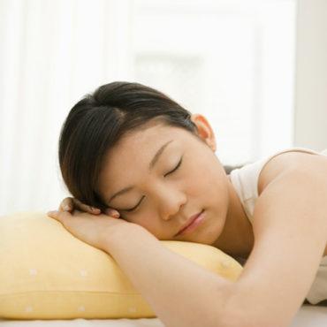 睡眠不足の解消